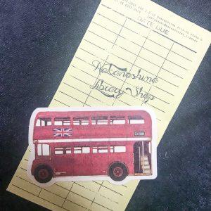 ロンドンバスのカード