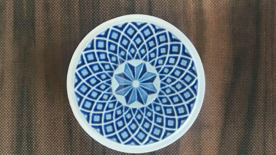 イタリア陶器の蓋つきプチポット