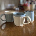 晋六窯さんのPELICANシリーズ PELICAN TEA CUPとMilk jug