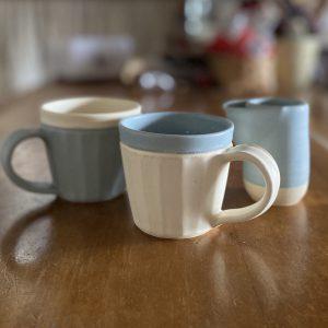 晋六窯さんのPELICANシリーズ PELICAN CUPとMilk jug